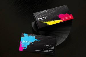 Business card CMYK by Ansonika