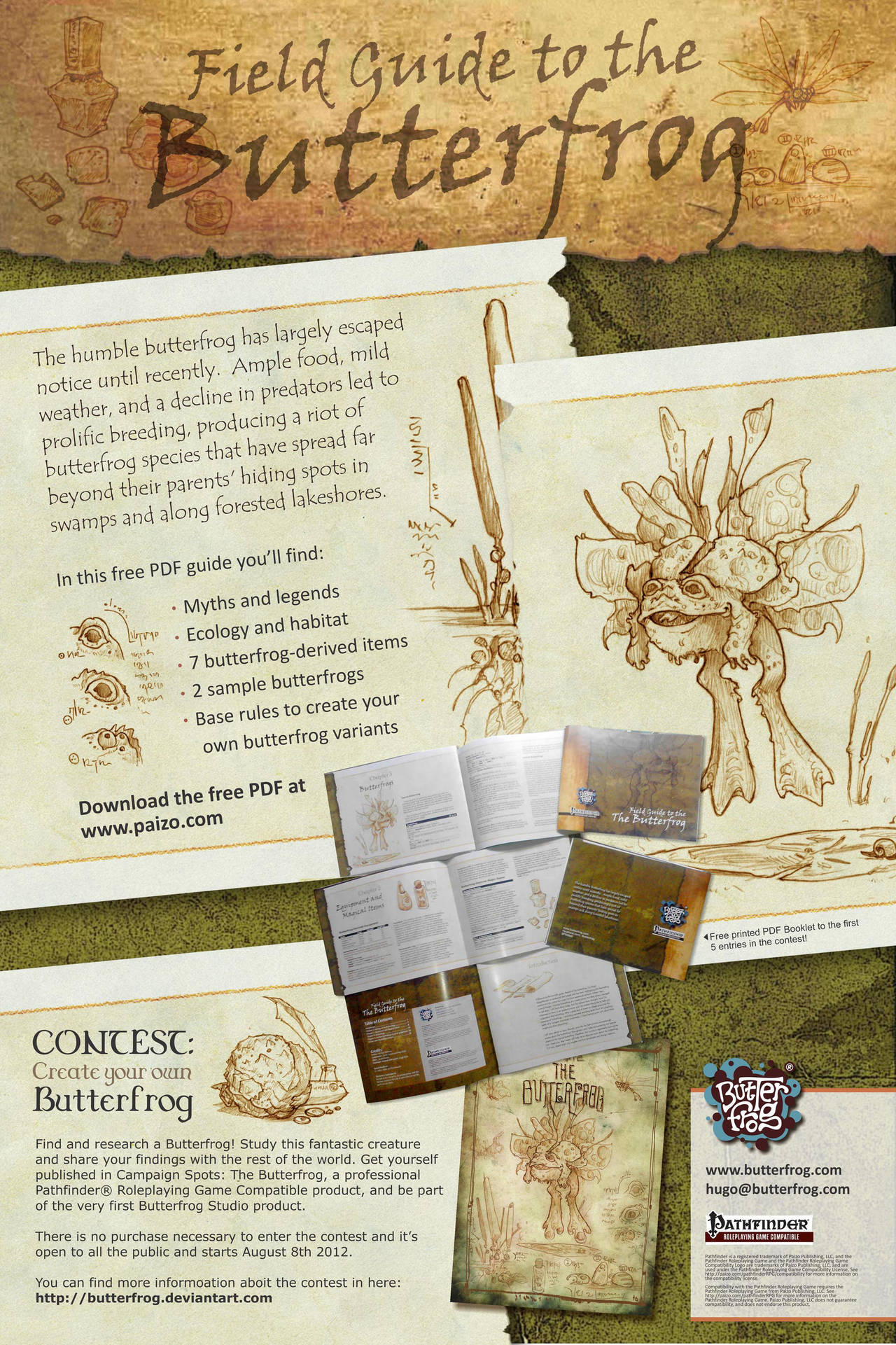pathfinder field guide