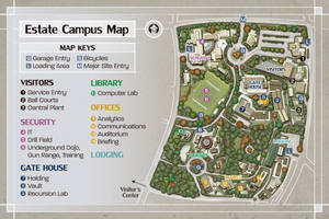 Estate Campus Univerity by butterfrog