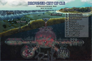 Drowned City of Cle by butterfrog