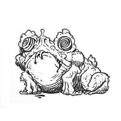 01-Psychotropifrog by butterfrog