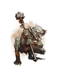 Goblin Slave by butterfrog