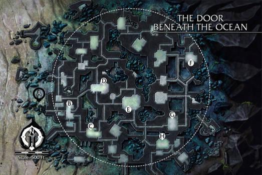 The Door Beneath the Ocean by butterfrog