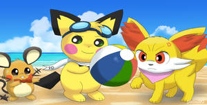 Summer Pastimes by pichu90