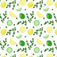 Lemon Lime Pattern by michellecreatesstuff