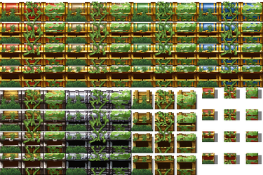 Plant covered chests by kalez