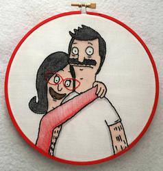 Bob And Linda Hoop by starrley