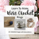 Wire Crochet Ring Tutorial with Viking Knit by WrappedbyDesign