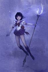 Sailor Saturn - Hotaru Tomoe by Mikadze