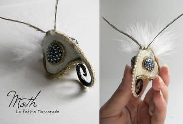 Moth Masquerade Mask by Mikadze