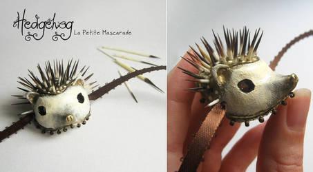 Hedgehog Masquerade Mask by Mikadze