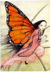 Monarch Butterfly Fairy by Mikadze