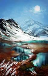 Mountain Landscape by grrroch
