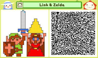 Pushmo - Link and Zelda by linkkirby8692