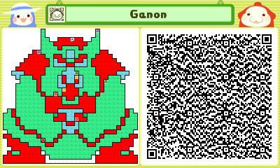 Pushmo - Ganon by linkkirby8692