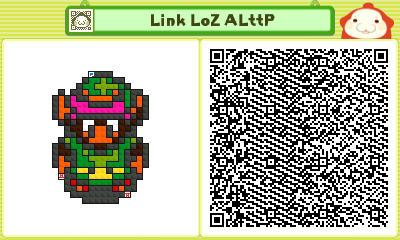 Pushmo - Link LoZ ALttP by linkkirby8692