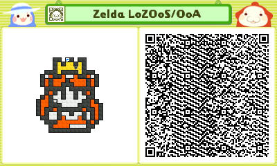Pushmo - Princess Zelda LoZ OoS/OoA by linkkirby8692