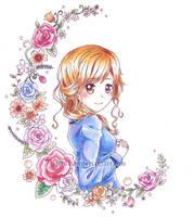 - Flowery - by Pluvias