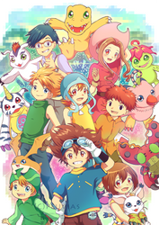 - Digimon Adventure - by Pluvias