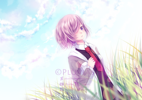 Commission: Mashu Kyrielight [+Speedpaint] by Pluvias