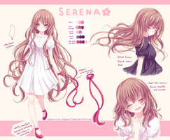 Serena Reference Sheet by Pluvias