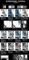 Screentone tutorial by leEGOIST