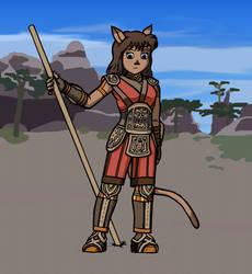 Raichel as a Mithra by Timothius