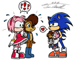 Contest Entry: Sonic Love by Timothius