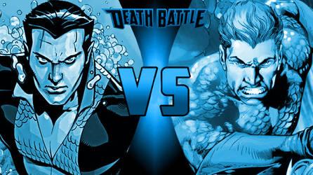 Death Battle Namor vs. Aquaman by Alvin1794