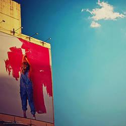 Paint The Sky Pink by oO-Rein-Oo