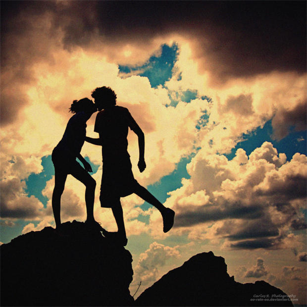 Silhouette Of Love by oO-Rein-Oo