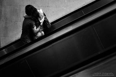 Love On An Escalator by oO-Rein-Oo