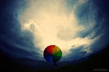 Rainbow Coming by oO-Rein-Oo