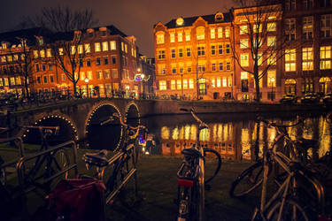 Amsterdam Lights I by oO-Rein-Oo