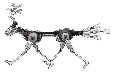 Future Animal Digital 001 by Michael-Sexbomb