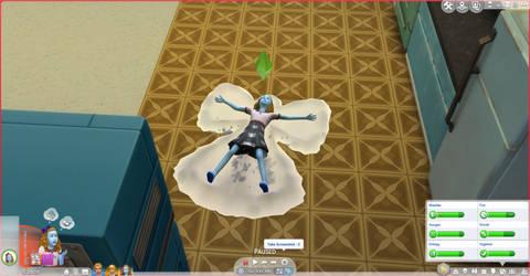 Sims 4 season glitch by raetara
