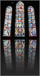 Stained Glass of Bremen by rd80770