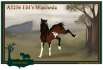 A5256 EM's Wanheda by EmeraldTheWoof