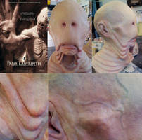 The Pale Man Mask by nitre