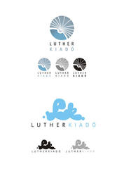 Luther book publisher logotype by Chasar