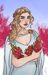 Dany with dragon(fruit) by GIcee