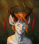 Deer boy 2 by AntCommander