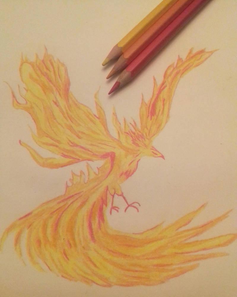 Phoenix by frantastic-scribbles