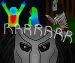 Steven Vs Predator by artiadraw