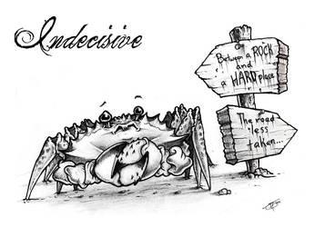 Indecisive Crab by SirPedroEC