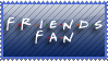 Friends Fan Stamp by PixieDust01