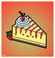 Kawaii Cheesecake by PixieDust01