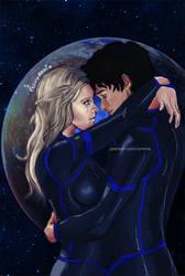 The 100 // Bellarke// Space Romance by vyrenia