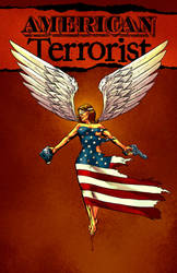 American Terrorist digital edition #7 Cover: Color by TylerChinTanner