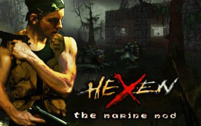 Hexen: The Marine Mod experimental title by HexenStar